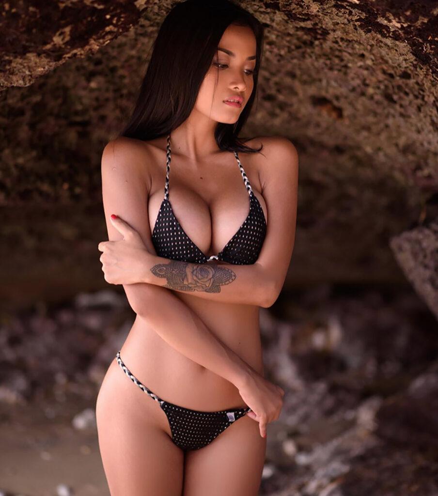 annastasya.hakim bali model girl putri cinta indonesian 2021