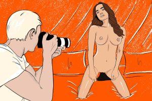 putri cinta secret diary of a nude model episode 3 Cover